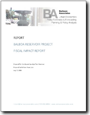 Cover of Balboa Fiscal Feasibility Report