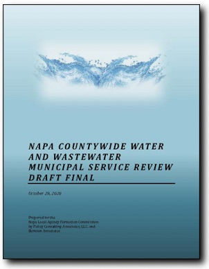 Cover of Napa Water/Wastewater MSR
